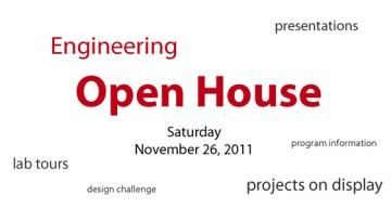 Engineering Open House 2011