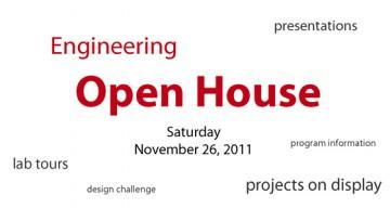 Engineering Open House 2011