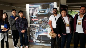 UBC students win PACE competition with expandable vehicle