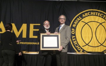 Dr. Chris McKesson elected SNAME Fellow