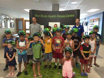 Dr. Peter Cripton teaches kids about helmets and brain health