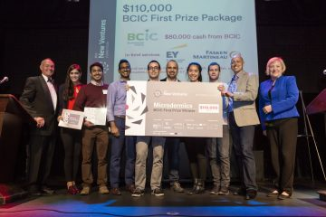 UBC faculty and alumni win first and third place (and several other awards) at BCIC New Ventures Competition