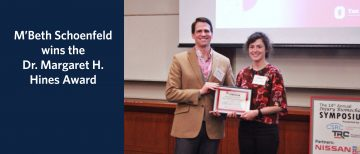 MECH Alum Wins Oral Presentation Award at Injury Biomechanics Symposium