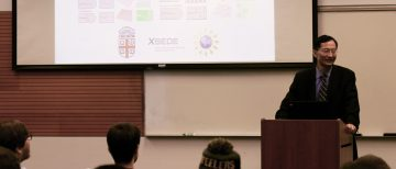 Dr. Huajian Gao Gives MECH Distinguished Colloquium Seminar