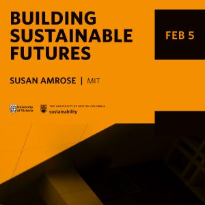 Building Sustainable Futures – February 5, 2020 – Susan Amrose