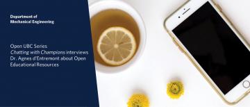 Open UBC interview with Dr. Agnes d'Entremont