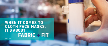 Media Mention: EGBC's Innovation Magazine features mask research by Dr. Steven Rogak