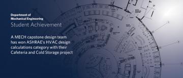 Capstone design wins 2021 ASHRAE competition